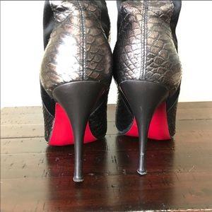 Carlos Santana Red Bottom Stilleto Boots